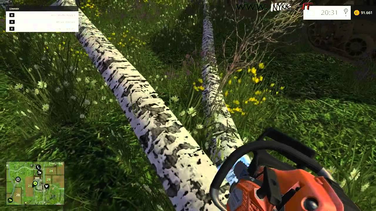 Farming Simulator 15 - Gameplay ITA HD - Cippato Che Non Vuole Essere  Cippato #32