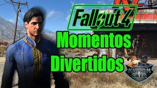 Fallout 4  Momentos Divertidos