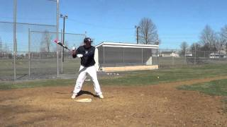 Zach Moretski - Hitting - PA Shockers - www.PlayInSchool.com