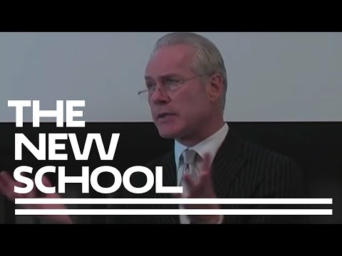 Tim Gunn at The New School: Quality, Taste, and Style