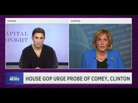 Rep  Tenney Discusses Comey, Clinton Probe