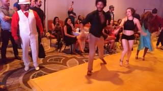 Leah y Terry Salsalianza social dance at BIG Salsa Festival 2016