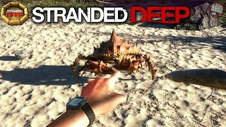 Huge Crab Attack | Stranded Deep Gameplay | EP2