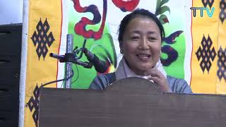 Education kalon Dr. Pema Yangchen talk at the inaugural ceremony of Leadership workshop