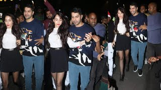 Nora Fatehi Fans MISB€HAVE-N-T0UCH Her Evrywhr In Front Of Varun Dhawan @Street Dancer 3D Promotion