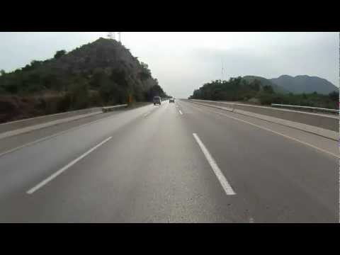 Islamabad to Lahore on Motorcycle via Motorway in HD - Part