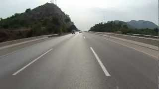 Islamabad to Lahore on Motorcycle via Motorway in HD - Part 1 of 7