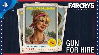 Far Cry 5 - Character Spotlight: Adelaide Drubman – Gun For Hire | PS4