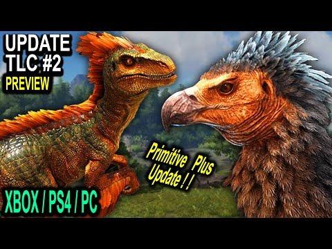 ARK TLC PHASE 2 PREVIEW NEW DINO MODELS + PRIMITIVE PLUS UPDATE!! Ark Survival Evolved TLC Update