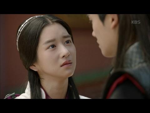 """화랑 - 서예지, 오빠 박형식 알아봤다 """"왜 몰라봤을까"""".20170207"""