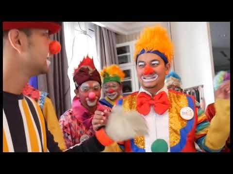 Raffi Ahmad & Indra Bekti Jadi BADUT dirumahnya Raffi , Rafatar & Nagita Jadi Bete'