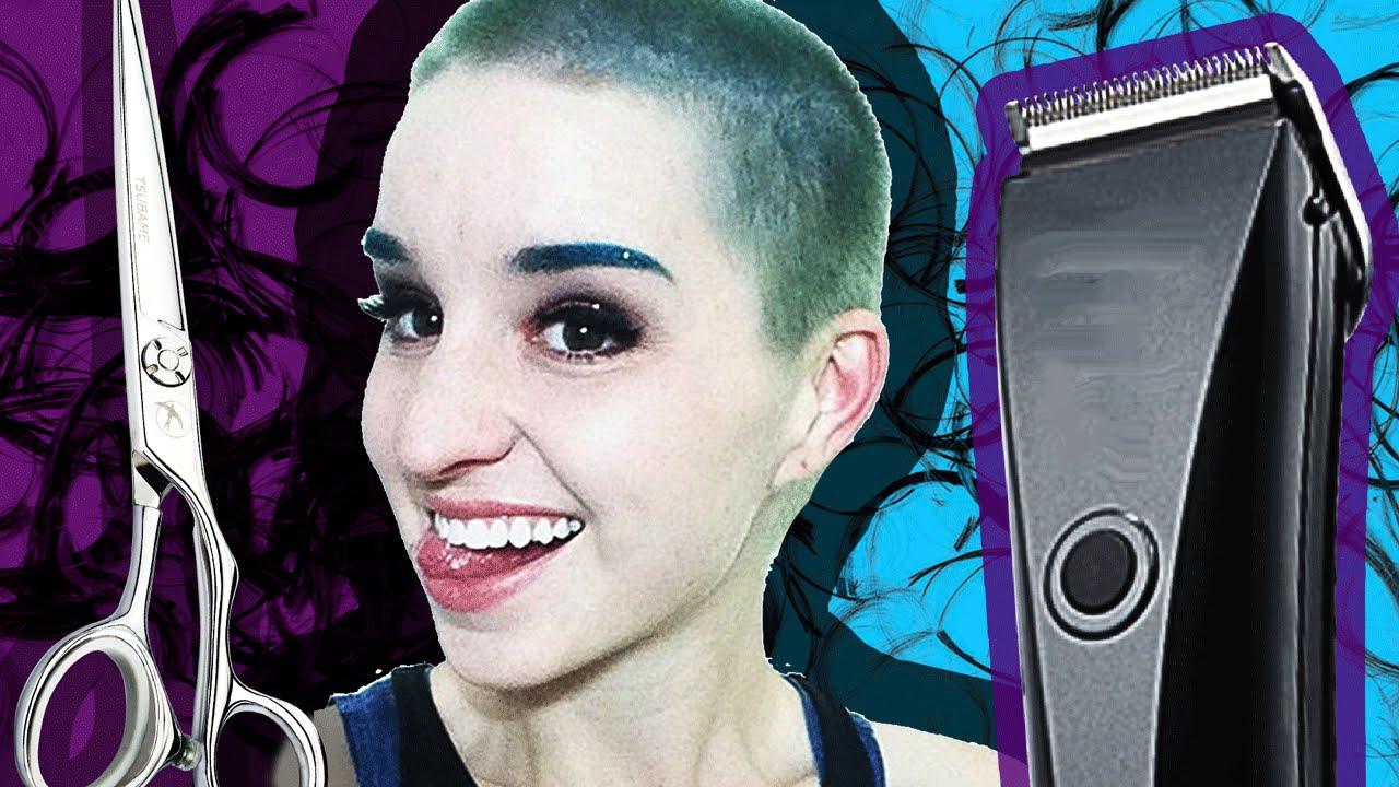 Girl head shaved video, itybity teen porn