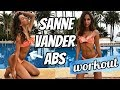 5 MINUTE MODEL ABS WORKOUT | Sanne Vander