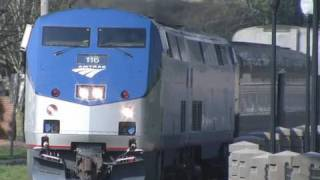 (HD)Amtrak Coast Starlight to Los Angeles,CA