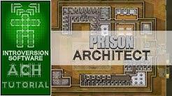 Tutorial Prison Architect (5/10) - Regeln / Entlassung / Zellenqualität / Zuschüsse [Deutsch]
