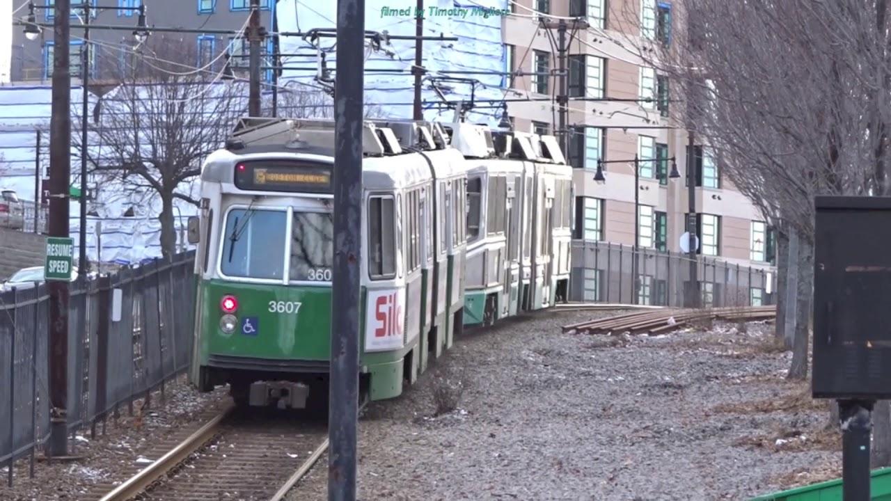 Mtb Subway Map Boston.Lightrail Greenline In Boston Ma 2018