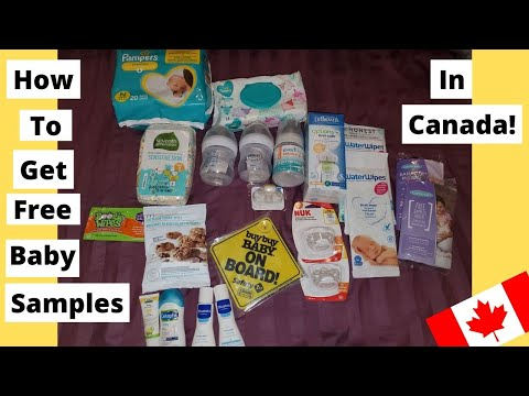 How To Get Baby Freebies (For Canadians!)