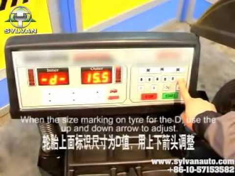 WH0207 wheel balancer from Beijing sylvan auto.com