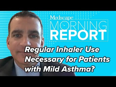 Is Regular Inhaler Use Necessary For Patients With Mild Asthma? It Depends | Morning Report