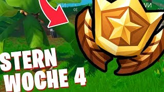 Secret BATTLE PASS STERN WEEK 4 ⭐ Fortnite Schrottsturm Season 10 ORT English