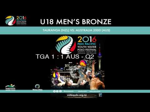 2016 Pan Pacific Youth Water Polo Festival: Under 18 Men's Bronze
