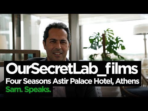 Exclusive Interview with the GM of the new Four Seasons Astir Palace Hotel - Sam Ioannidis