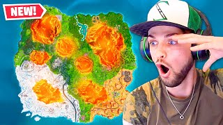 *NEW* LAVA COVERED Fortnite Map!