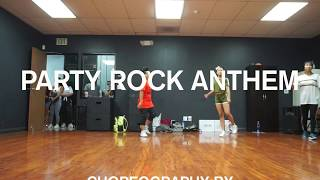 PARTY ROCK ANTHEM by LMFAO ft Lauren Bennett & GoonRock | Aidan Prince | Choreo: Coco Natsuko