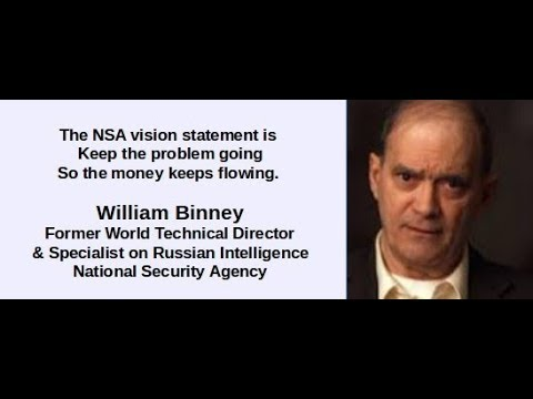 Top NSA Whistleblower W. Binney Talks to the Head of CIA, Exposes NSA, Russia, & Cyber Warfare