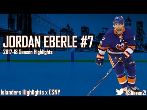 Jordan Eberle 2017-18 Season Highlights