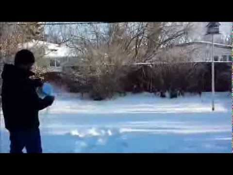 Hot Boiling Water Freeze to Ice Instantly in -45 degree Celsius  Canada