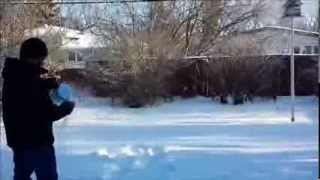 hot boiling water freeze to ice instantly in 45 degree celsius canada