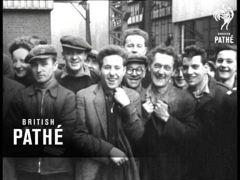 Duke Of Edinburgh Visits Industrial Tyneside (1957)
