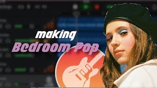 HOW TO MAKE BEDROOM POP TYPE  BEATS ON GARAGEBAND IOS (How to make a clairo type beat 2019)
