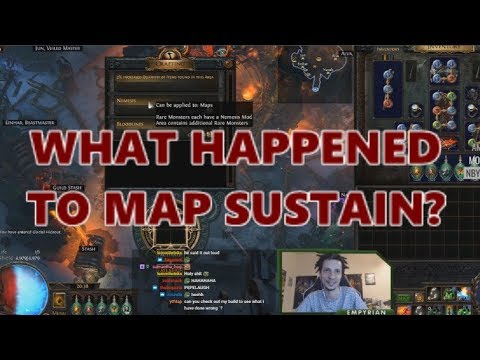 [PoE] Stream Highlights #262 - What happened to map sustain?