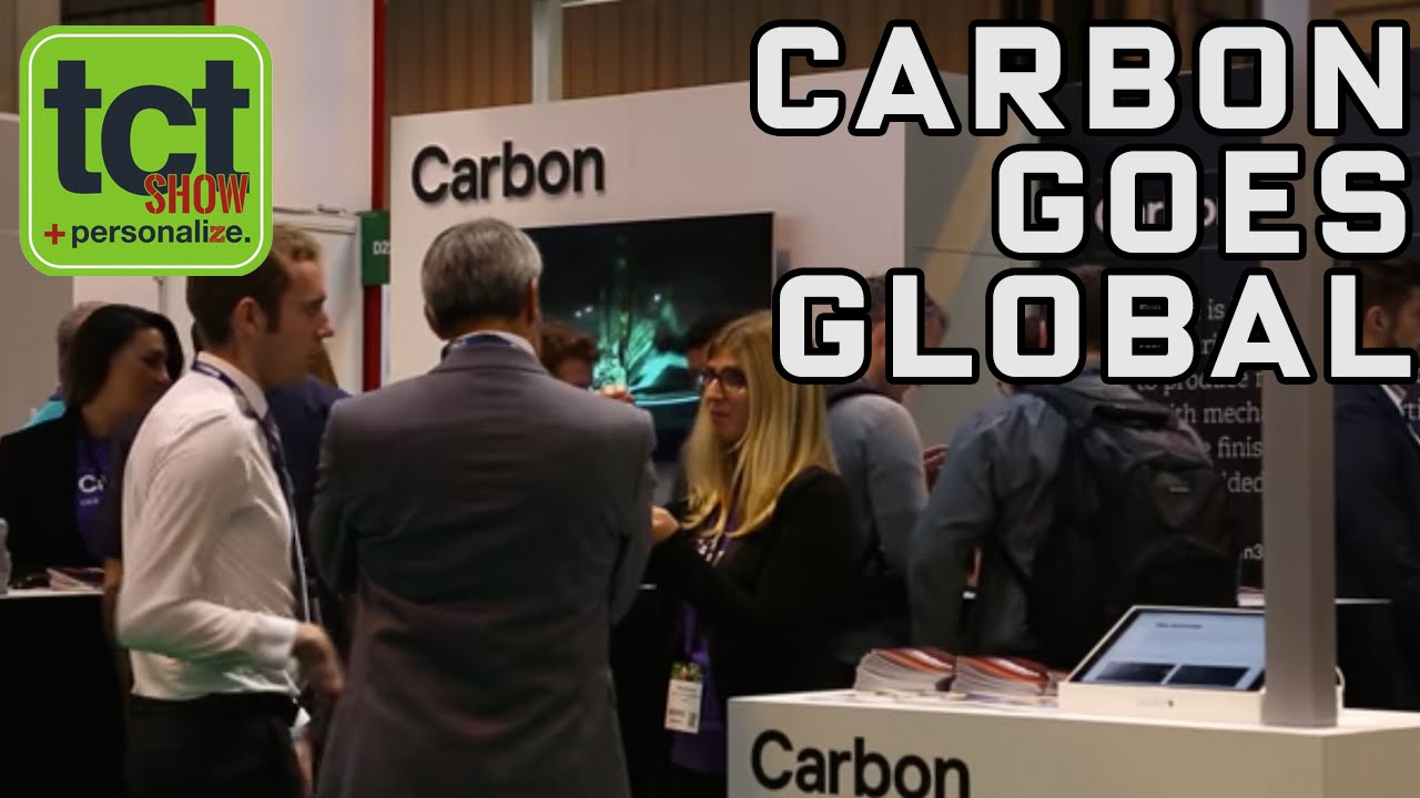 CARBON talks international expansion for CLIP 3D printing tech at TCT Show