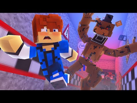 Escaping Five Nights at Freddys  Minecraft FNAF