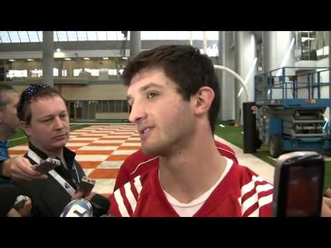 Nathan Peterman on the Vols first day of spring practice