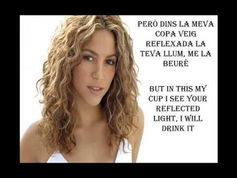 Boig Per tu (Crazy for you) - Shakira - english subtitles