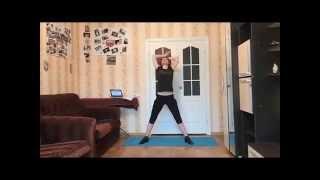 Как похудеть? Интенсивная кардио-силовая тренировка дома!