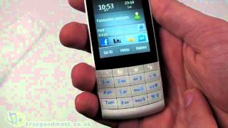 Nokia X3-02 unboxing video