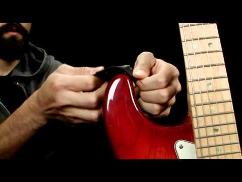 How to Make Your Own Guitar Strap Locks