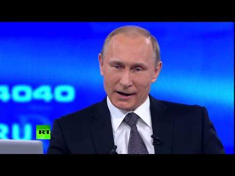 Владимир Путин: Мы не собираемся возрождать империю, нет у нас таких целей