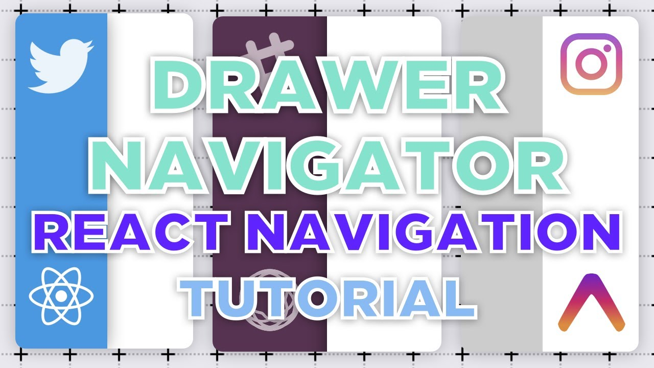 React Navigation Drawer Navigator explained in 5 minutes