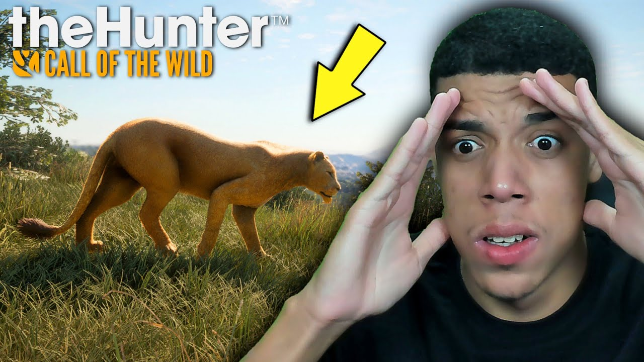 DE VOLTA A CAÇA AOS LEÕES e BUFALOS BRAVOS! ( ÉPICO ) - THE HUNTER CALL OF THE WILD