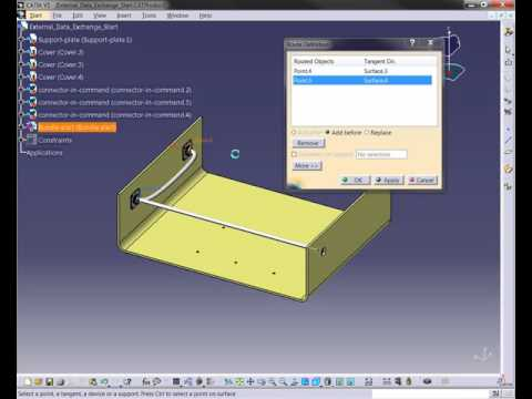 CATIA V5 - Wire Routing