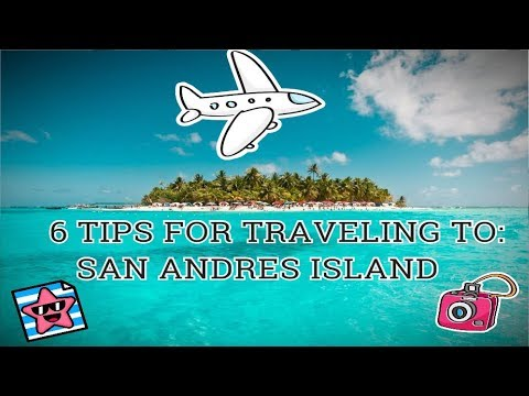 6 TIPS FOR TRAVELING TO SAN ANDRES ISLAND 🌴 |  TOURIST CARD, LODGING, THE NIGHT AND MORE.