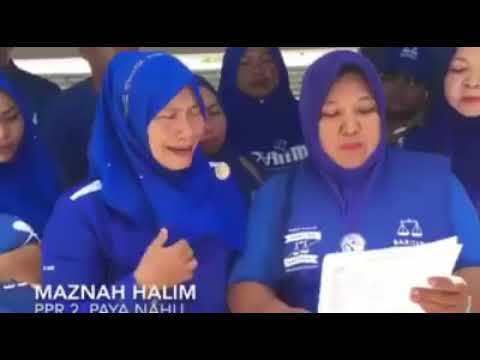 Women cried after Barisan National lost (so emotional) //must watch