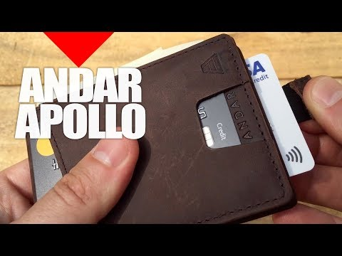 NEW Andar Wallet Review And Unboxing | Best Wallets For Men