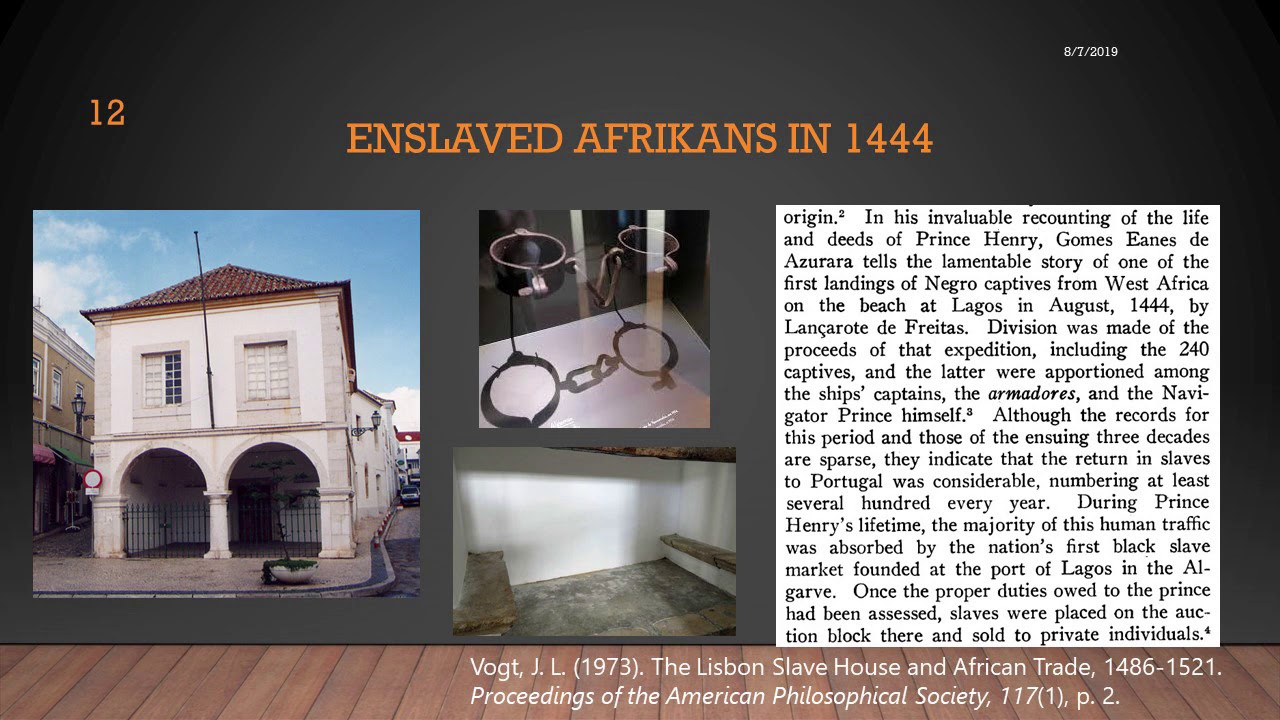 400 years? Replacing Arbitrary Anglocentrism with Evidence-based Afrikan-Centered Analysis